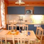 Küche Ferienhaus Mönchgut