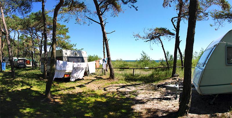 Zelt Auf Campingplatz Mieten : Stellplätze camping an der ostsee auf rügen